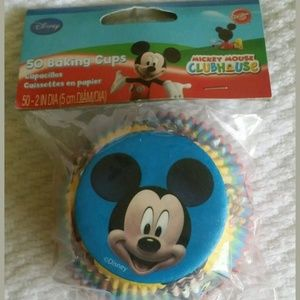 Mickey Mouse Clubhouse cupcake baking cups